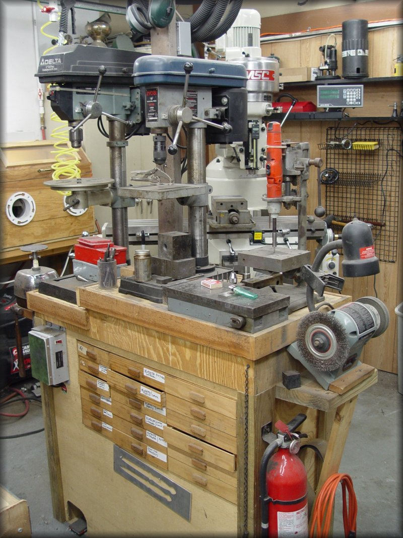 Stan Wilson Knives Drill Presses