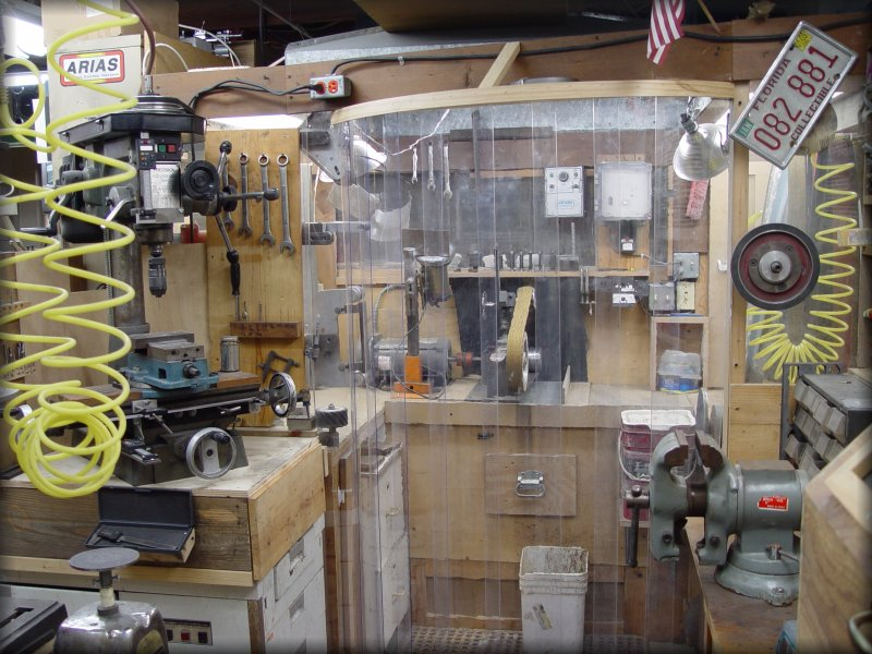 Stan wilson knives overview of shop pic 1 for Store layout maker